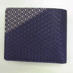 【印伝】男性用二つ折財布が入荷しましたよ!